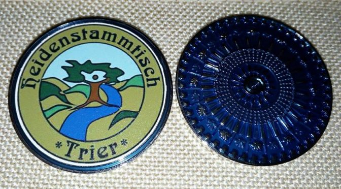 Der Heidenstammtisch-Coin – Geocaching